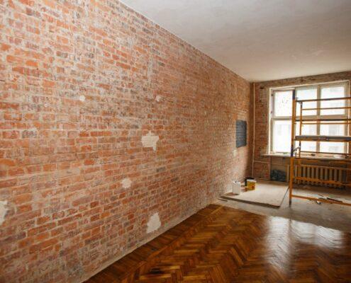 ремонт кирпичного дома